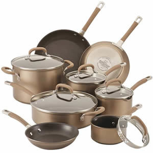 Circulon Premier Professional 13-piece Hard-anodized Cookware Set Review