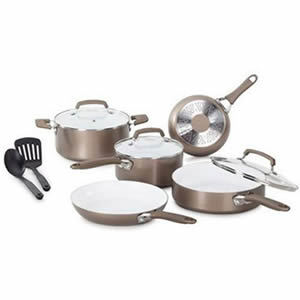 Quick Overview Of WearEver C944SA Pure Living Nonstick Ceramic Coating Cookware
