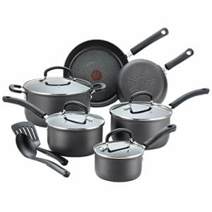 T-fal E765SC Ultimate Hard Anodized Nonstick 12 Piece Cookware Set Review
