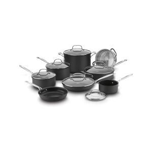 Cuisinart 66-14N 14 Piece Chef's Classic Non-Stick Hard Anodized Cookware Set Review
