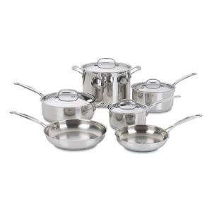 Cuisinart 77-10 Chef's Classic Stainless 10-Piece Cookware Set Review