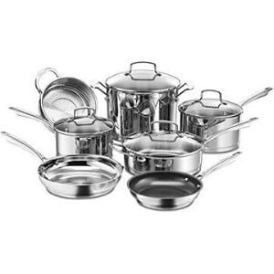 Cuisinart 89-11 11-Piece Professional Stainless Cookware Set Review