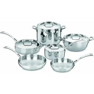 Cuisinart FCT-10 French Classic Tri-Ply Stainless 10-Piece Cookware Set Review