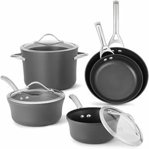 Calphalon 1876784 Contemporary Hard-Anodized Aluminum Nonstick Cookware 8-Piece Review