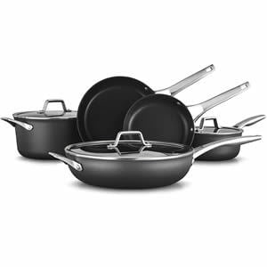 Calphalon Premier Hard-Anodized Nonstick 8-Piece Cookware Set