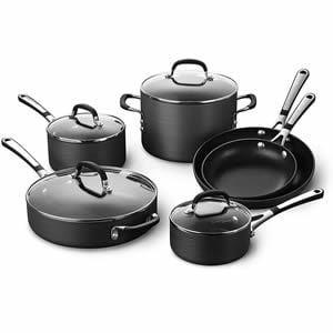 Calphalon Simply Pots and Pans 10 piece Cookware Set