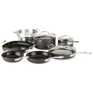 All-Clad Essentials Nonstick Cookware set 10-Piece