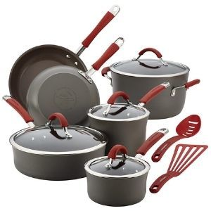Rachael Ray Cucina Hard Anodized Nonstick Cookware 12 Piece
