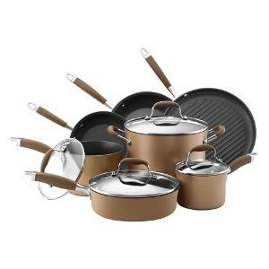 Anolon Advanced Hard Anodized Nonstick 11 Piece Cookware Set