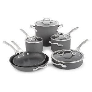Calphalon Signature 10 Piece Hard Anodized Nonstick Cookware