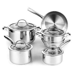 Cooks Standard 9-Piece Classic Stainless Steel Cookware Set Review