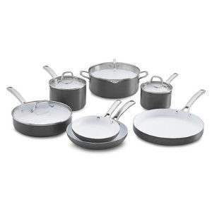 Calphalon 11 Piece Classic Ceramic Nonstick Cookware Set Review