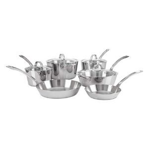 Viking Contemporary 3-Ply Stainless Steel Cookware Set 10 Piece